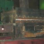 Нагревательная газовая печь штампового комплекса