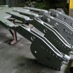 Подвесное устройство шахтной клети