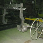 Траверса для разливки стали
