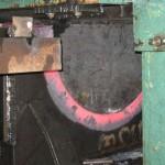 Штамповка заготовок обсадных муфт из листа 60 мм